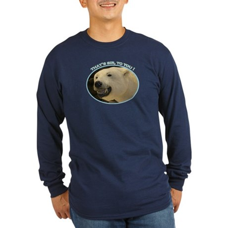 Bear Birthday Long Sleeve Dark T-Shirt