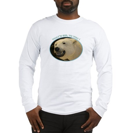 Bear Birthday Long Sleeve T-Shirt