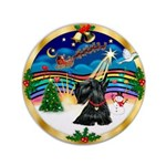 "XmasMusic 3/Scottie #12 3.5"" Button"