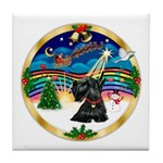 XmasMusic 3/Scottie #12 Tile Coaster