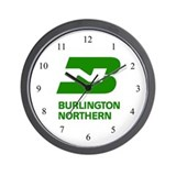 Burlington Northern Wall Clock