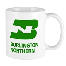 Burlington Northern Small Mug