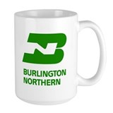 Burlington Northern Mug