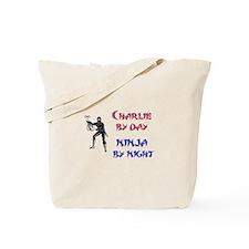 Charlie - Ninja by Night Tote Bag