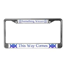 Unique Witch License Plate Frame