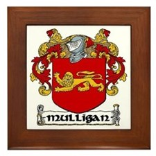 Mulligan Coat of Arms Framed Tile