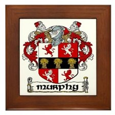 Murphy Coat of Arms Framed Tile
