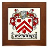 McNulty Coat of Arms Framed Tile