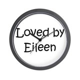 Cute Eileen Wall Clock