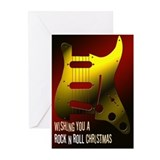 Guitars greeting card Greeting Cards (10 Pack)