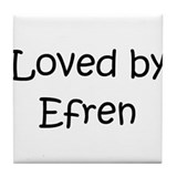 Cute Efren Tile Coaster