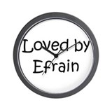 Cute Efrain Wall Clock
