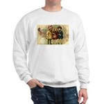 Ice Skate Christmas Sweatshirt