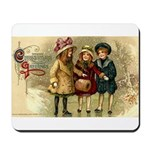 Ice Skate Christmas Mousepad