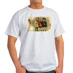 Ice Skate Christmas Light T-Shirt