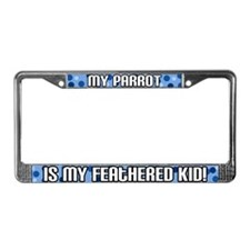 Parrot Feathered Kid License Plate Frame