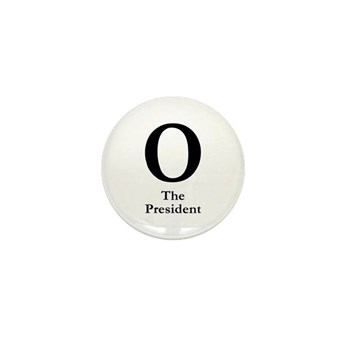 O: The President Barack Obama campaign pin