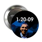 "1-20-09 Obama 2.25"" Button (100 pack)"