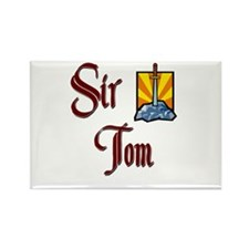 Sir Tom Rectangle Magnet (10 pack)