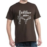 Half Fisherman. Half Hunter. T-Shirt
