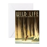 Wild Life Greeting Cards (Pk of 10)