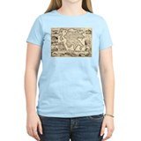Ancient Greece Map T-Shirt