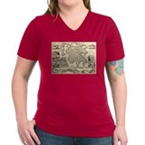 Ancient Greece Map Shirt