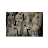 Terra Cotta Warriors Rectangle Magnet