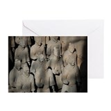 Terra Cotta Warriors Greeting Cards (Pk of 10)