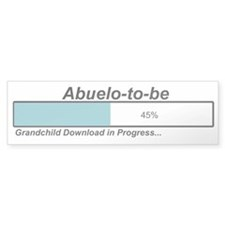 Download Abuelo to Be Bumper Bumper Sticker