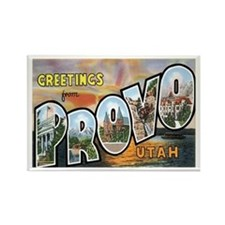 Provo Utah UT Rectangle Magnet