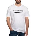 Walt Whitman Fitted T-Shirt