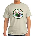 XmasMusic1/Dachshund #17 Light T-Shirt