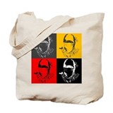 Ninja Face Tote Bag.