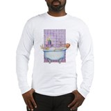 Bathtub Joy Long Sleeve T-Shirt