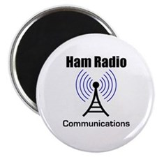 Ham Radio Communications Magnet