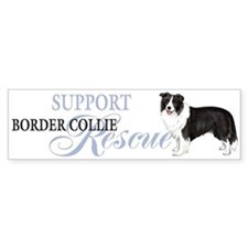 Border Collie Rescue Bumper Bumper Sticker