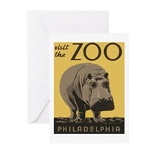 Zoo Hippo Greeting Cards (Pk of 20)