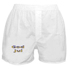 Svenska God Jul Boxer Shorts