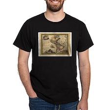 America Americas Map T-Shirt