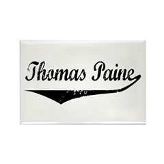 Thomas Paine Rectangle Magnet