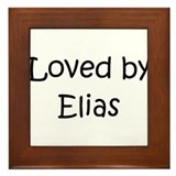 Funny Elias Framed Tile