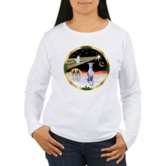 Wisemen/Whippet #8 Women's Long Sleeve T-Shirt
