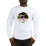 Wisemen/Whippet #8 Long Sleeve T-Shirt