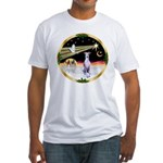 Wisemen/Whippet #8 Fitted T-Shirt
