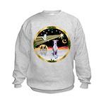 Wisemen/Whippet #8 Kids Sweatshirt