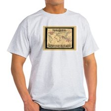 1850 British Empire Map T-Shirt