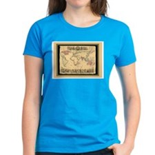 1850 British Empire Map Tee