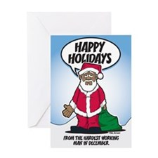 Brotha Claus Greeting Card