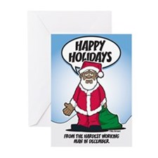 Brotha Claus Greeting Cards (Pk of 10)
